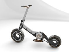 israeli industrial designer adir zilber submitted street hopper, an unusual transportation vehicle to designboom Electric Scooter For Kids, Electric Bicycle, Electric Cars, Electric Vehicle, E Bicycle, Scooter Bike, Scooters, Bike Engine, Cars