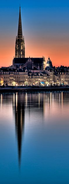 Bordeaux by night ~ France