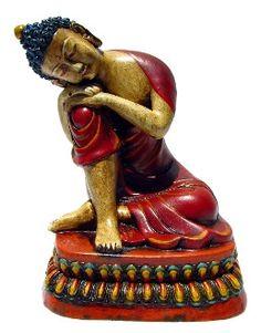 Ceramic Resting Buddha