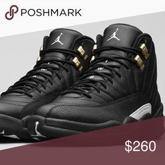 official photos f8eb3 bbce8 Air-Jordan-Retro 12 Jordan Retro XII the master in black gold Size 10 These  shoes are Brand New In the Box! They are from an extensive personal  collection ...