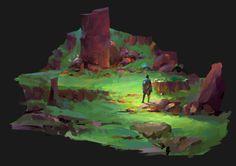 journey, kevin hou on ArtStation at https://www.artstation.com/artwork/o0wy4