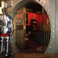Kelvin Arms Scotch Pub Houston Bars, Vaulting, Scotch, Arms, Gallery, Plaid, Roof Rack, Weapons