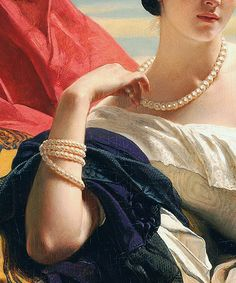 Leonilla, Princess of Sayn-Wittgenstein-Sayn, Franz Xaver Winterhalter, 1843