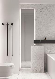 Bathroom Rules, Bathroom Spa, Apartment Interior Design, Bathroom Interior Design, Toilet Vanity, Vanity Design, Toilet Design, Minimalist Bathroom, Stone Houses