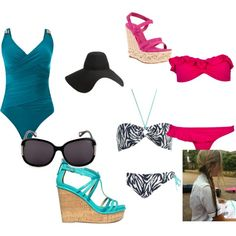 Beach Outfits, created by tabitha-bennett on Polyvore