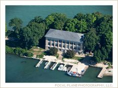 Ohio State University's Stone Lab located at Gibraltar Island by Put-in-Bay, Ohio~ Lake Erie Islands.