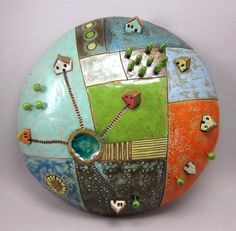 "https://www.facebook.com/elukka.ceramics ""Wall globe"""