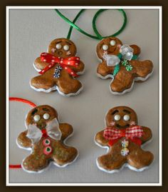 Learn how to make these darling gingerbread boys taught by Charmed Confections' LeeAnn Kress.  This tutorial is fun and easy!  Go to www.creativepaperclay.blogspot.com to see how.  For more information on Charmed Confections go to www.charmedconfections.com