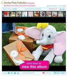 Dumbo Inspired Kids Birthday Party
