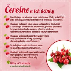 Infografiky Archives - Page 7 of 14 - Ako schudnúť pomocou diéty na chudnutie Organic Beauty, Food Design, Wellness, Cherry, Fitness, Meals, Fresh, Aloe Vera, Plants