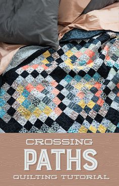 New Crossing Paths Quilt Tutorial from Jenny Doan of Missouri Star Quilt Co.