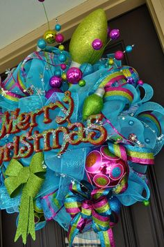 Christmas Wreath Christmas Wreath Christmas by RedWithEnvyDesigns, $195.00