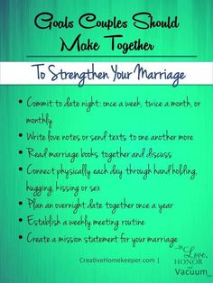 Wifey Wednesday: Setting Goals as a Couple