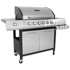 XL Barbecue Grill Outdoor 7-Burner Garden Premium Gas BBQ Grey Party Cooking New
