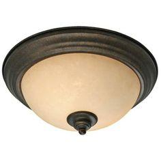"Heartwood Collection 13 1/4"" Wide Ceiling Light Fixture | LampsPlus.com"