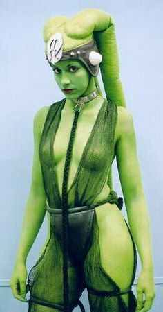 star wars cosplay Oola nude