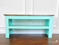 How to build a custom shoe bench
