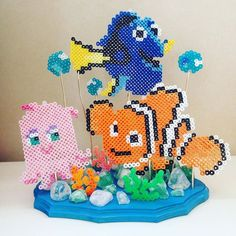 Finding Nemo perler beads by remy_xox