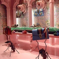 """GUCCI, Rue de Faubourg, Paris, France, """"Ladies.... May we present to you..."""",  photo by LArchitetto Paga, pinned by Ton van der Veer"""