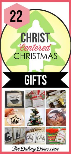 Meaningful Christ-Centered Christmas Gifts.  TheDatingDivas.com