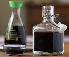 Make Your Own Soy Sauce - a homemade substitute that works quite well for people with an allergy to soy protein.