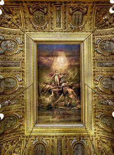 Techo del salón de trono en Versalles