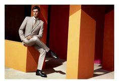 Sean OPry Stars in Salvatore Ferragamo Spring/Summer 2014 Campaign