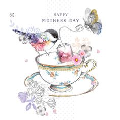 Happy Mother's Day (W491) Mother's Day Card by Lola http://www.thewhistlefish.com/product/w491-happy-mothers-day-greeting-card-by-lola #mothersday