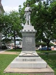 Texas Confederate Monument, Weatherford, Tx