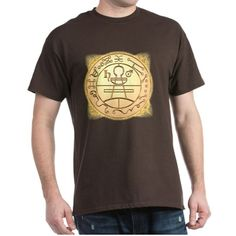 Solomons Secret Seal Tee (Dark) on CafePress.com