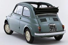 Fiat Cinquecento with Turin plate 500