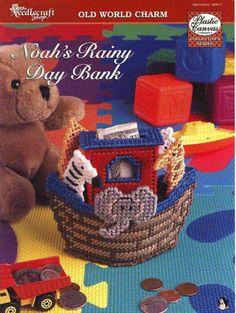 Noah's Rainy Day Bank 1/3