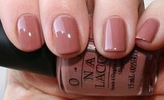OPI Barefoot in Barcelona  The perfect nude for darker skin tones :)