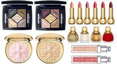 Dior Golden Shock Holiday 2014 makeup collection: http://sonailicious.com/dior-golden-shock-collection-diorific-vernis/