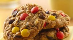 Bake up this yummy cookie using two easy cookie mixes and favorite chocolate and peanut butter flavors.