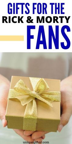You have to see the ultimate list of the Best Gifts for Rick and Morty Fans! They are terrific gift ideas that are sure to make a Rick and Morty fan happy! Unique Gifts For Dad, Cool Fathers Day Gifts, Gifts For Boss, Gifts For Coworkers, Creative Gifts, Traditional Anniversary Gifts, Great Anniversary Gifts, Cute Gifts, Holiday Gifts