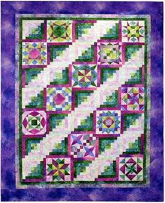 Stonehenge Brights Block of the Month Quilt