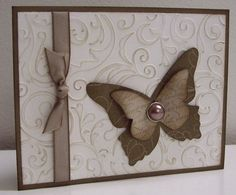 Stamping with Loll:  Victorian Butterfly - sponging (Jan. 2012)