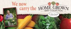 We now carry the Home Grown Seed Collection Garden Seeds, Flower Seeds, Dutch, Vegetables, Country, Flowers, Collection, Dutch Language, Rural Area