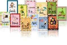 Classroom Freebies Too: Monthly Binder Covers