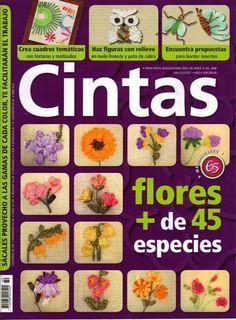 Revistas de manualidades Gratis: Flores en cintas paso a paso