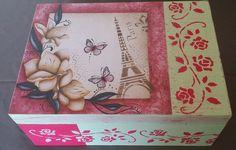Caixa Decorada   Brasinha artesanato   Elo7