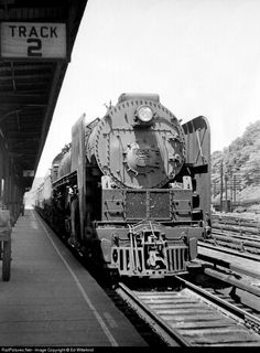 NYC 6020 New York Central Steam 4-8-4 at Harmon, New York, 1947 by Ed Wittekind