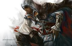 Ezio by Jon-Lock on deviantART