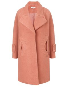 Old Pink Oversized Coat | Carven | Avenue32