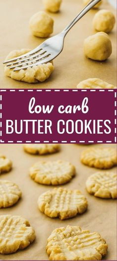 Low carb butter cookies with almond flour. keto / low carb / diet / atkins / induction / meals / recipes / easy / dinner / lunch / foods / healthy / gluten free / paleo / christmas / shortbread / danish / recipe / 3 ingredient / simple / dutch / ketogenic / best / homemade / healthy / eggless / vanilla / classic / holiday / no egg / flourless / #LowCarb #cookies #christmas
