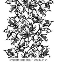 Similar Images, Stock Photos & Vectors of Flower design elements vector - 252583555 Stencil Patterns, Stencil Designs, Frame Clipart, Flower Designs, Design Elements, Vectors, Stencils, Royalty Free Stock Photos, Abstract