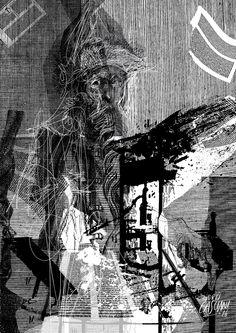 """""""Los hijos de los días"""" - Galeano ilustrado por Casciani 23/2 . acá podés leer el texto:http://andrescasciani.blogspot.com.ar/2016/02/los-hijos-de-los-dias-galeano-ilustrado_23.html"""