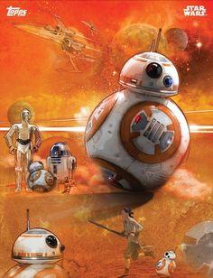 star-wars-card-trader-force-awakens-BB8-droid