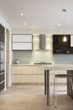 Caesarstone Snow kitchen from Carlisle Homes